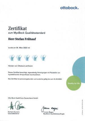 Zertifikat Stefan